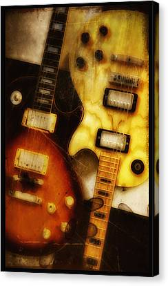 Rock And Roll Never Forgets Canvas Print by Bill Cannon