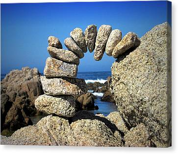 Rock Art One Canvas Print
