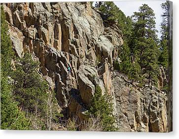 Canvas Print featuring the photograph Rock Climbers Paradise by James BO Insogna