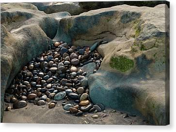 Rock Cradle Canvas Print by Randy Bayne