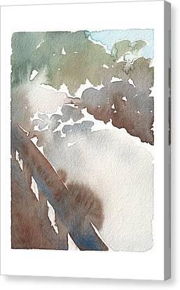 Rock Creek Park Bridge Canvas Print by Meagan Healy