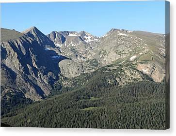 Rock Cut - Rocky Mountain National Park Canvas Print by Pamela Critchlow