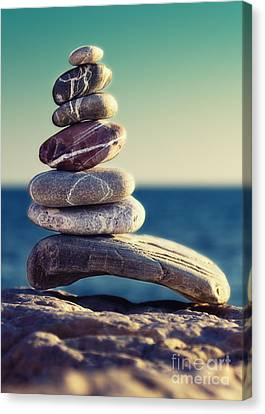 Stacked Canvas Print - Rock Energy by Stelios Kleanthous