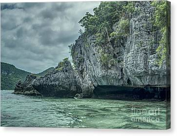 Angthong Canvas Print - Rock Formation by Michelle Meenawong