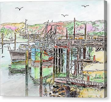 Rock Harbor, Cape Cod, Massachusetts Canvas Print