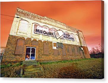 Rock Hill Cotton Factory Canvas Print