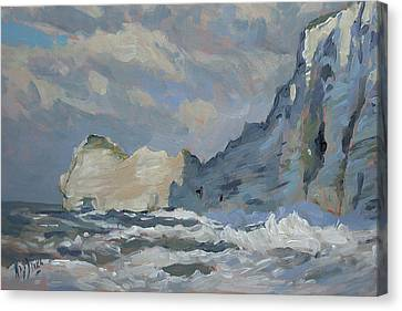 Canvas Print - Rock Of Amont Etretat by Nop Briex