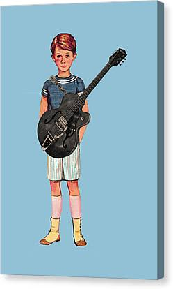 Rock On Canvas Print by Colleen VT