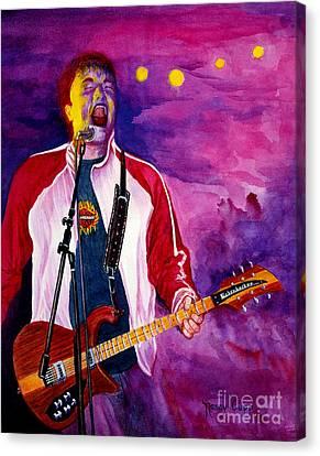 Rock On Tom Canvas Print