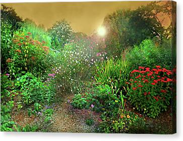 Rock Point Garden And Nature Center Canvas Print by Diana Angstadt
