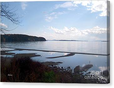 Canvas Print featuring the photograph Rock Point North View Horizontal by Felipe Adan Lerma