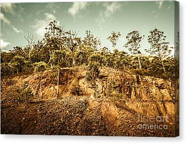 Rock Quarry Landscape Canvas Print by Jorgo Photography - Wall Art Gallery