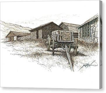 Rock Ranch Memories Canvas Print