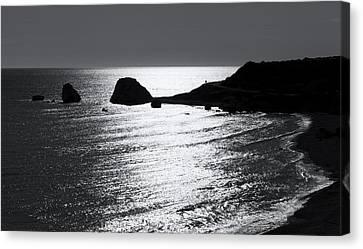 Rock Silhouette Canvas Print