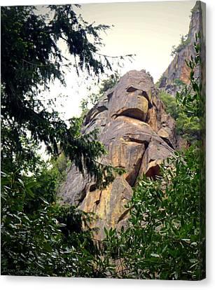 Rock Spirits At Yosemite Canvas Print
