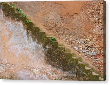 Canvas Print featuring the photograph Rock The Kasbah by Ramona Johnston