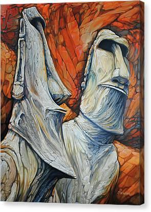 Rockbound Canvas Print