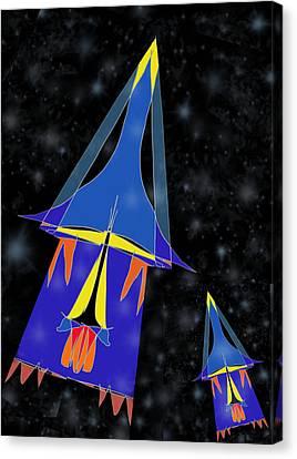 Rocket 2 Canvas Print by Denny Casto