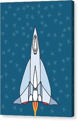 Rocket Ride Canvas Print by Denny Casto