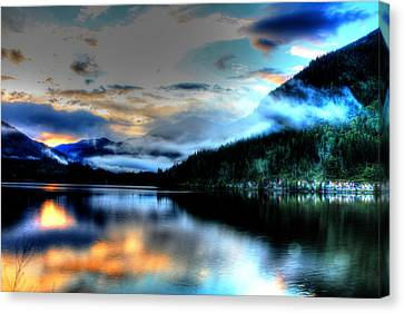 Rockie Mountain Mist Canvas Print