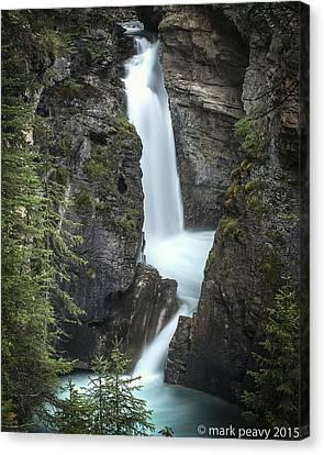 Rockies Waterfall Canvas Print
