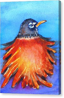 Rockin Robin Canvas Print by Patricia Piffath