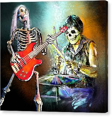 Rocking The Free Spirits Canvas Print by Miki De Goodaboom