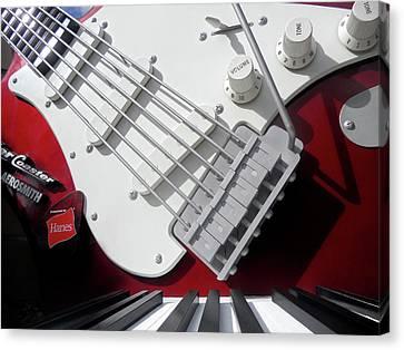 Rock'n Roller Coaster Aerosmith Canvas Print by Juergen Weiss