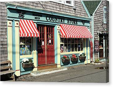 Rockport Country Store Canvas Print
