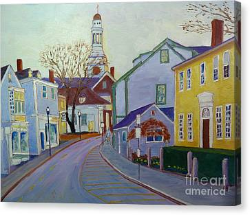 Rockport  Mass Canvas Print