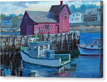 Rockport  Canvas Print by Michael McDougall