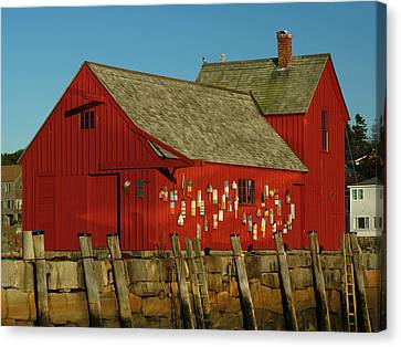 Rockport Motif Number 1 Canvas Print by Juergen Roth