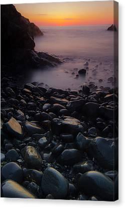 Rocks 2 Canvas Print by William Sanger