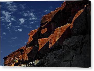 Sky And Rocks Canvas Print