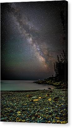 Rocks And Stars Canvas Print by Brent L Ander