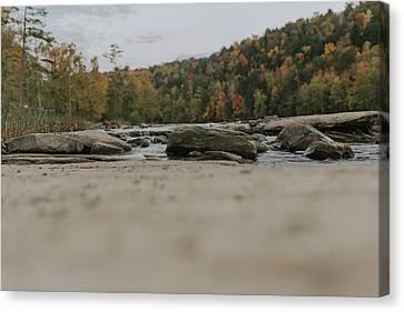 Rocks On Cumberland River Canvas Print