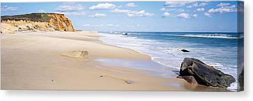 Rocks On The Beach, Lucy Vincent Beach Canvas Print by Panoramic Images