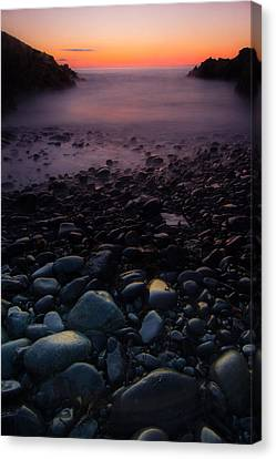 Rocks Canvas Print by William Sanger