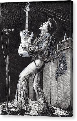 Rockstar Canvas Print by Vincent Alexander Booth