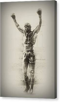 Rocky Canvas Print by Bill Cannon