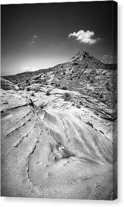 Canvas Print featuring the photograph Rocky Cornet With Cloud Icing by Alexander Kunz