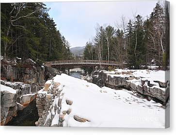 Canvas Print - Rocky Gorge, Winter  by Catherine Reusch Daley