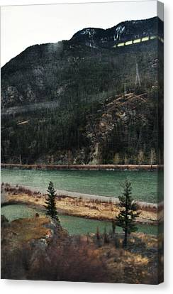 Rocky Mountain Foothills Montana Canvas Print by Kyle Hanson