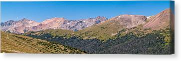 Canvas Print - Rocky Mountain National Park by Bill Gallagher