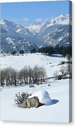 Rocky Mountain National Park Canvas Print by Julie Rideout