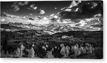 Rocky Mountain Panorama Canvas Print by Andrew Soundarajan