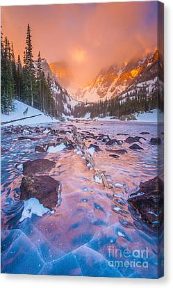 Rocky Mountain Sunrise Canvas Print