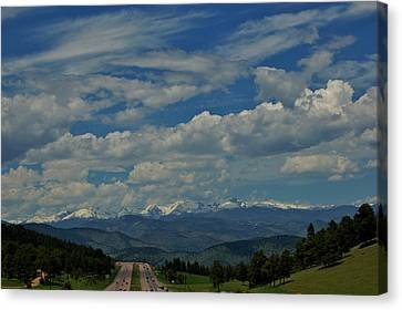 Colorado Rocky Mountain High Canvas Print