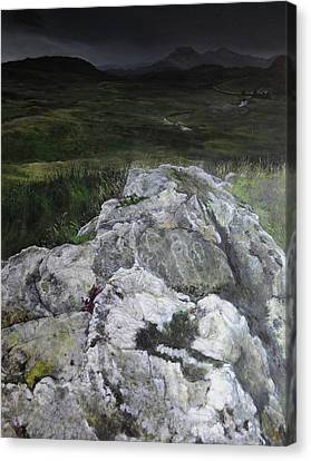 Rocky Outcrop Canvas Print by Harry Robertson