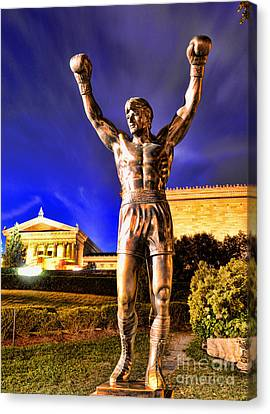 Rocky Canvas Print by Paul Ward